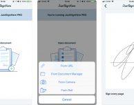 Just Sign Here, un'app gratuita per firmare PDF e immagini