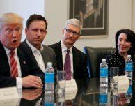 Meeting tra Tim Cook e Donald Trump, si è parlato soprattutto di commercio