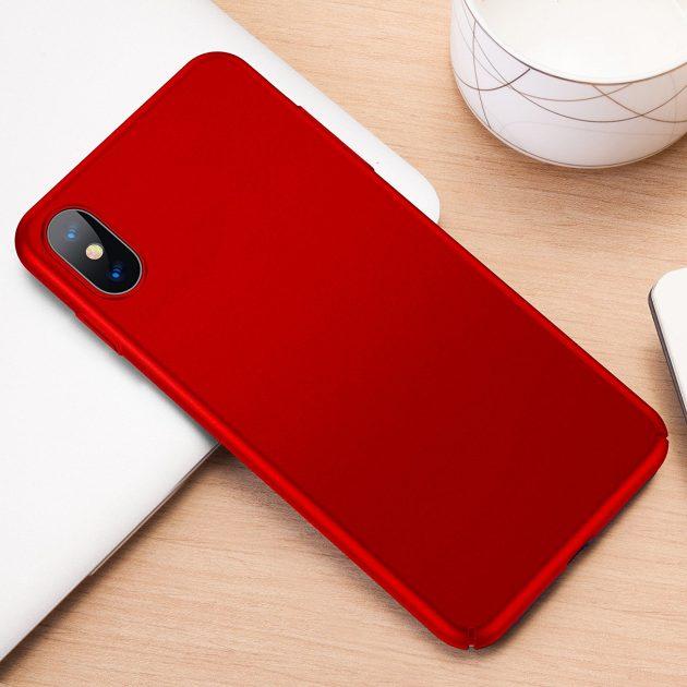custodia red iphone x