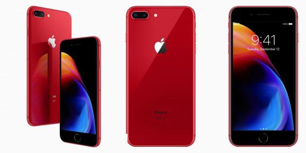custodia iphone 8 plus red