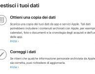 """Come scoprire quali dati personali conserva Apple: ecco il nuovo tool """"Data e Privacy"""""""