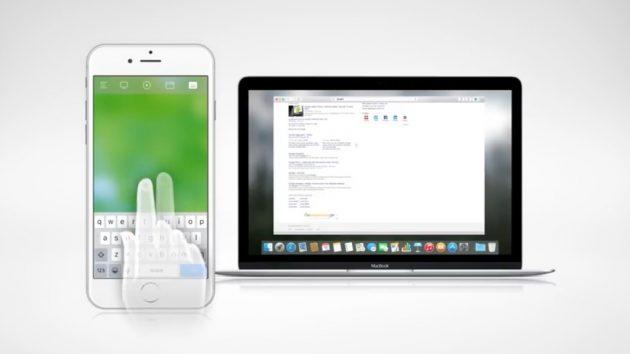 comandare il mac con liphone