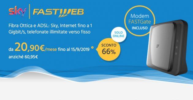 con fastweb fibra