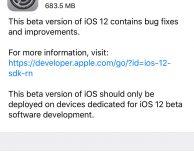 Apple rilascia iOS 12 Beta 2 per sviluppatori!