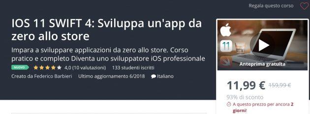 Swift - Sviluppa un'app da zero allo store