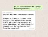WhatsApp inizia a segnalare i messaggi inoltrati