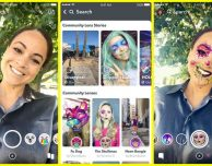 Snapchat, arriva il nuovo Lens Explorer