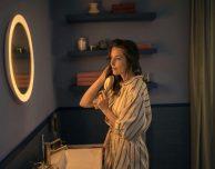 Philips presenta lo specchio da bagno della linea smart Hue