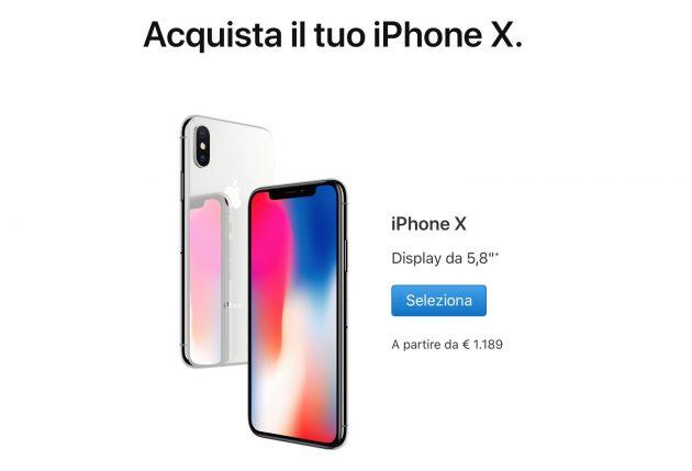 come capire se iphone X o 5s