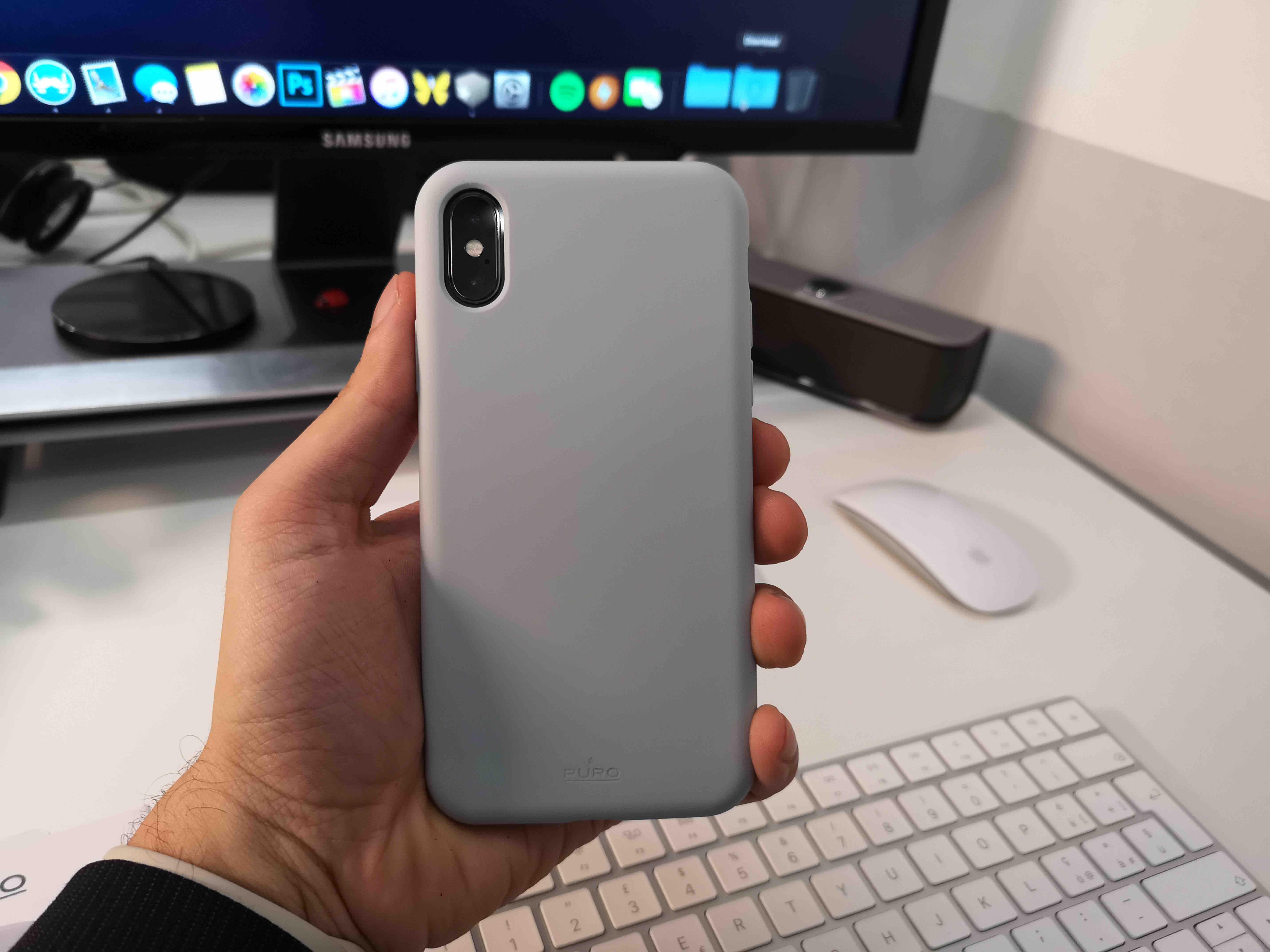 custodia iphone puro