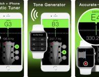 Arriva l'app per accordare la chitarra con Apple Watch