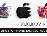 Keynote Apple del 30 ottobre, segui l'evento LIVE su iPhoneItalia! [LIVE TERMINATO]