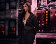 Lana Del Rey ospite di Apple durante l'evento mediatico a New York