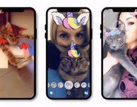 Snapchat si aggiorna con le Lenti per… gatti!