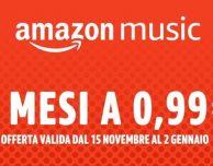 Amazon Music Unlimited: torna la promo 3 mesi a 0,99€