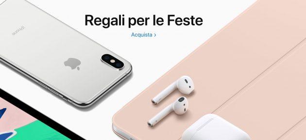 Regali Di Natale Per Tutti.Regali Per Le Feste Apple Apre La Sua Vetrina Di Natale Iphone Italia
