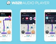 Waze GPS & Traffico live con player audio incorporato