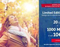 TIM Limited Edition Online: 1000 minuti e 20 Giga a 10€