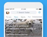Twitter aggiorna la barra di ricerca aggiungendo le sezioni