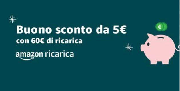 239f30444d Ricarica il tuo account Amazon.it con 60€ e ricevi un buono sconto ...