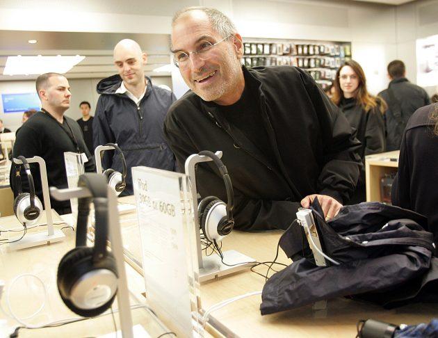 Negozio Apple Steve Jobs