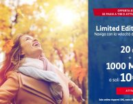 TIM Limited Edition Online: 1.000 minuti + 20 GB a 10€ al mese