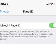 WhatsApp più sicuro: come attivare lo sblocco tramite Face ID o Touch ID