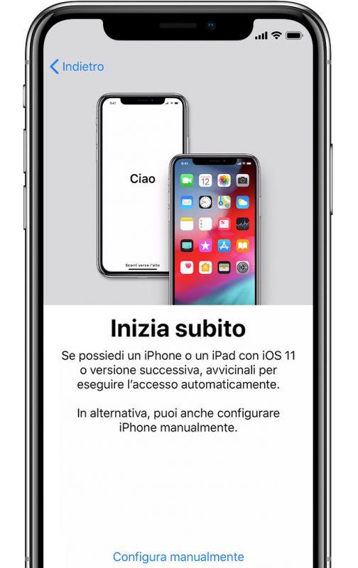 Come Configurare Iphone Come Nuovo Iphone Italia