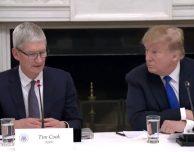 "Donald Trump: ""Tim Apple? Scelta voluta per risparmiare tempo"""