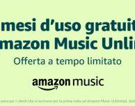 Amazon Music Unlimited: promozione per tre mesi gratis! – ULTIMO GIORNO