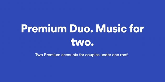 Spotify Premium Duo: un nuovo tipo di abbonamento in test ...