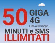 Nuova offerta Kena Mobile: minuti illimitati, SMS illimitati e 50 GB in 4G a 6,99€