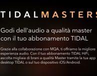 I Tidal Masters sono disponibili anche su iPhone