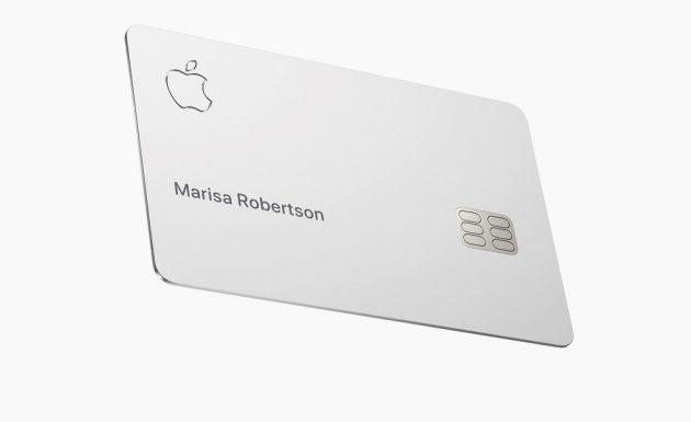 La Apple Card, senza alcuna informazione impressa. Credits: iphoneitalia.com