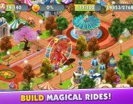 Wonder Park Magic Rides Game: costruisci le giostre e crea il tuo parco giochi