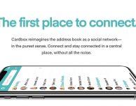 """Cardbox, l'app che ti fa gestire i contatti in modo """"social"""""""