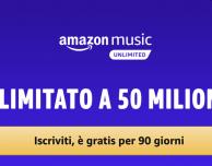 Amazon Music Unlimited: promozione per tre mesi gratis!