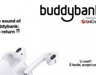 Scopri la promo buddybank per ricevere i nuovi AirPod