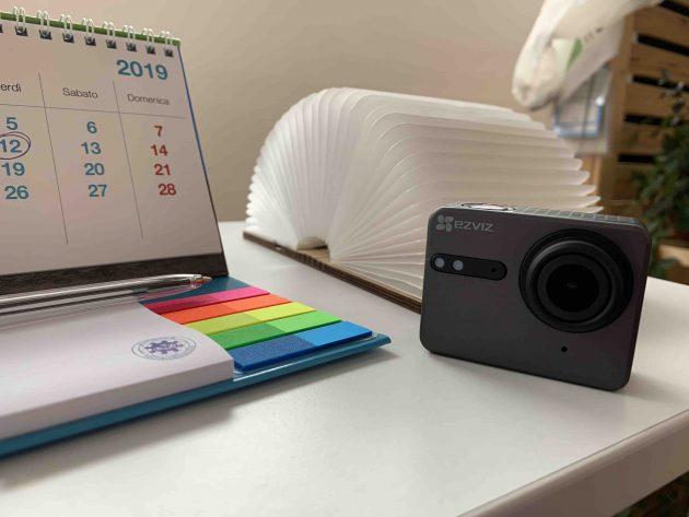 a6cd1924a636c1 Da oggi, 29 Maggio 2019 al 2 Giugno 2019, l'action camera è disponibile in  offerta su Amazon a 135€ con il codice sconto EZVIZCAM