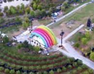Svelato il mistero della struttura arcobaleno nell'Apple Park