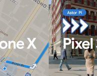 La nuova pubblicità del Google Pixel 3a e il paragone con l'iPhone X