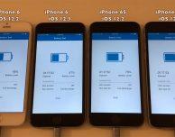 Confronto durata batteria iPhone tra iOS 12.3 e iOS 12.2