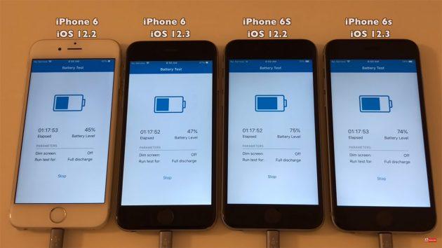 Iphone 6 E >> Confronto Durata Batteria Iphone Tra Ios 12 3 E Ios 12 2 Iphone Italia