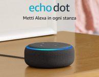 Amazon Echo Dot a 19,99€, impossibile non comprarlo!
