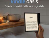 Amazon annuncia il nuovo Kindle Oasis