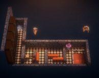 Bellissimo puzzle-game ambientato nella torre della biblioteca di Olimdal