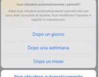 Come chiudere automaticamente tutti i tab aperti in Safari con iOS 13
