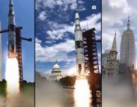 Il lancio di Apollo 11 rivive grazie ad un'app in realtà aumentata