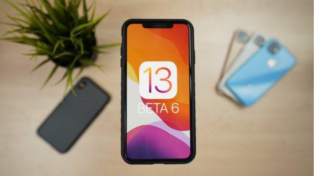 iOS 13 Beta 6