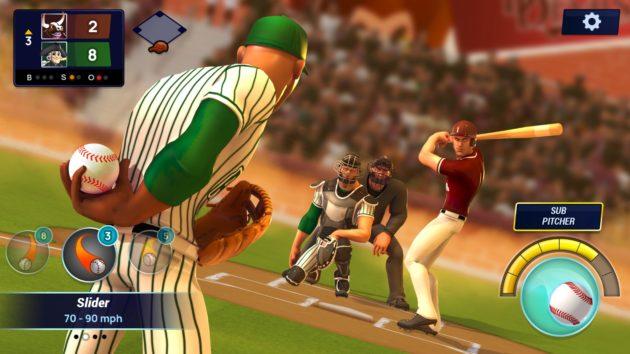 Ballistic Baseball apple arcade